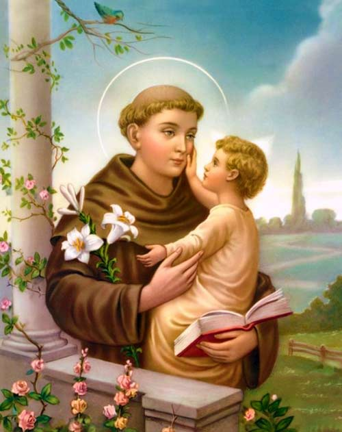 Prayer to Saint Anthony of Padua