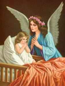 Saint Gertrude's Guardian Angel Prayer