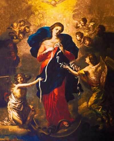 Virgin Mary Untier Of Knots