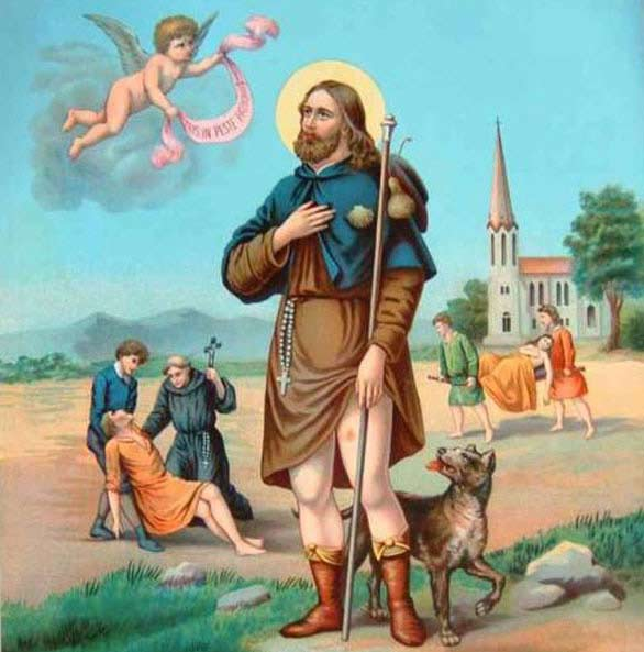 Prayer to Saint Rocco (Patron Saint of Dogs)