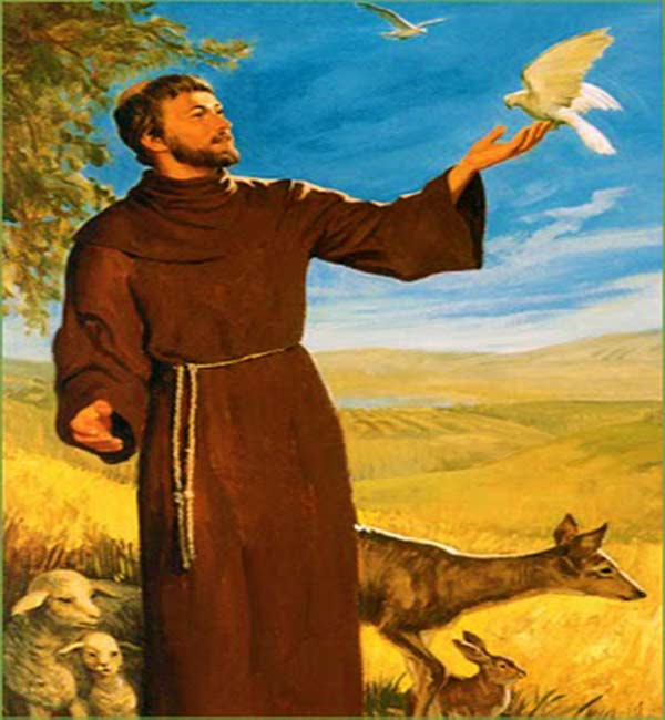 Prayer to Saint Francis For Our Pets