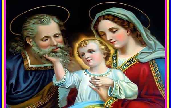 Daily Prayer Before a Picture of the Holy Family