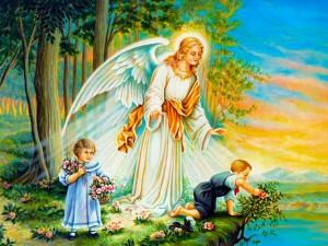 TO MY ANGEL GUARDIAN (by Saint Therese)