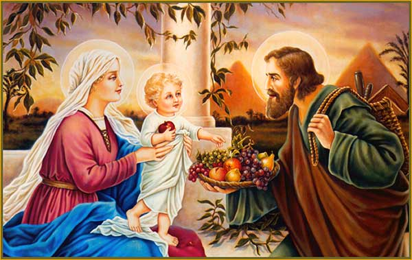 Prayer in Honor of The Holy Family