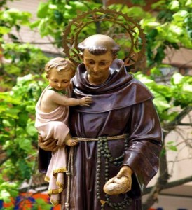 Prayer To Saint Anthony, Example of Humility