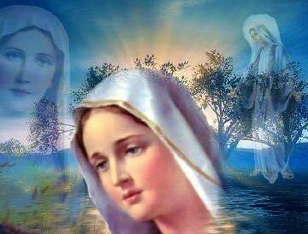 Evening Prayer to Our Blessed Mother