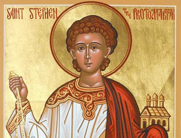 PRAYER TO ST STEPHEN, FIRST MARTYR