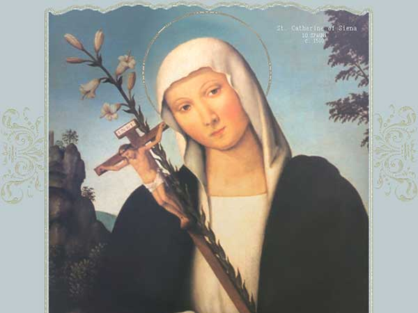 A Prayer to Saint Catherine of Siena