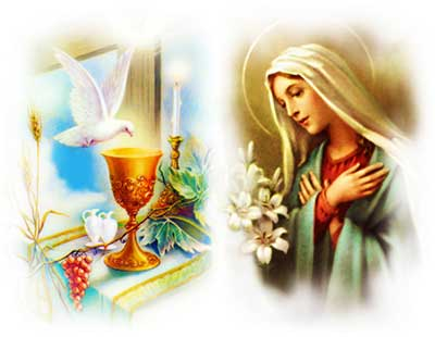 Prayer to the Blessed Virgin Mary, Our Lady of the Blessed Sacrament