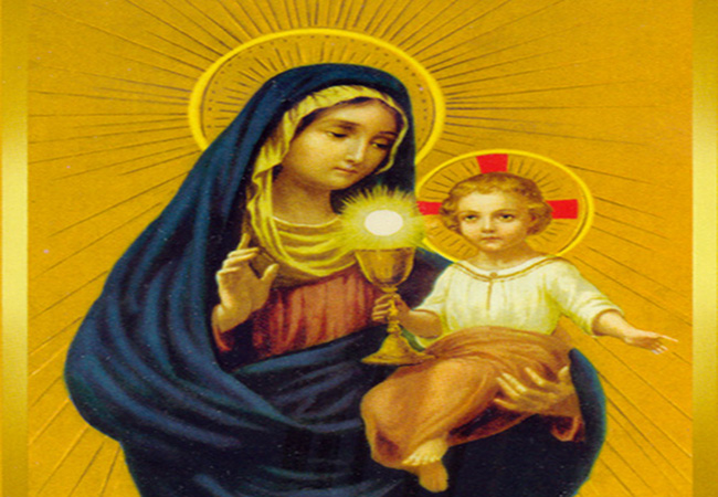 Precious Blood Prayer To The Mother of God