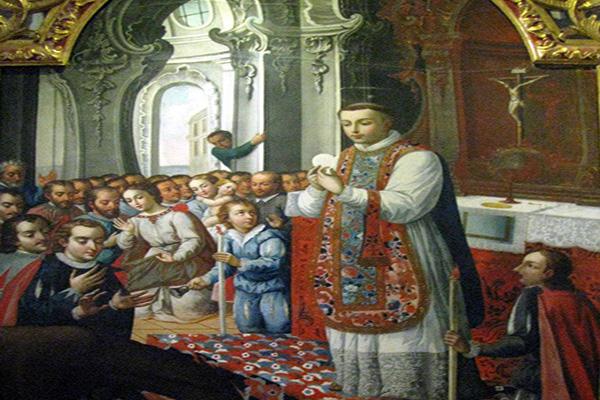 PRAYER TO SAINT ANTHONY PADUA BEFORE MASS