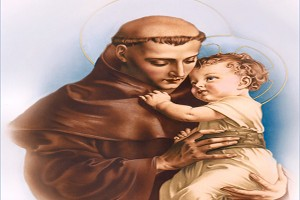 Saint Anthony And Jesus