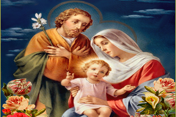 Memorable Jesus, Mary and Joseph