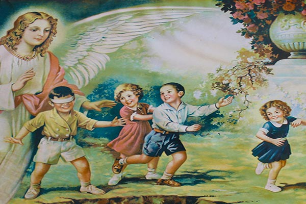 PRAYER TO THE HOLY ANGELS