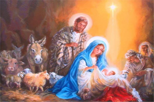 Nativity Prayer of St. Bernard of Clairvaux