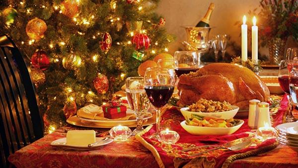 Christmas Dinner Grace