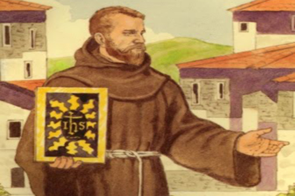 Prayer To Saint Bernardine of Siena