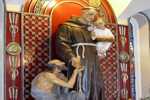PRAYER TO SAINT ANTHONY FOR PEACE