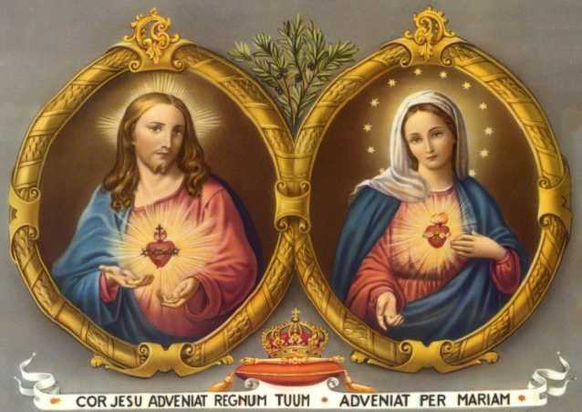 Offering To The Hearts Of Jesus And Mary