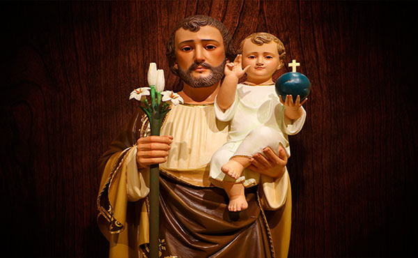 Saint Joseph in time of need