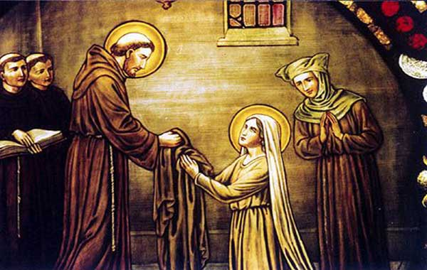 saint clare assisi litany