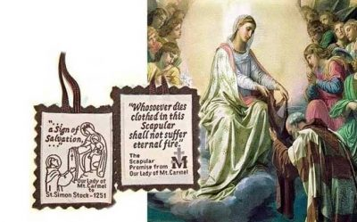 Act Of Consecration To Our Lady Of Mount Carmel
