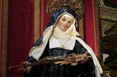 Saint Rita Statue