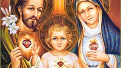 The Three Hearts of The Holy Family