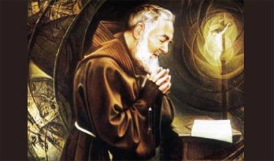 padre pio's prayer to accept God'd will