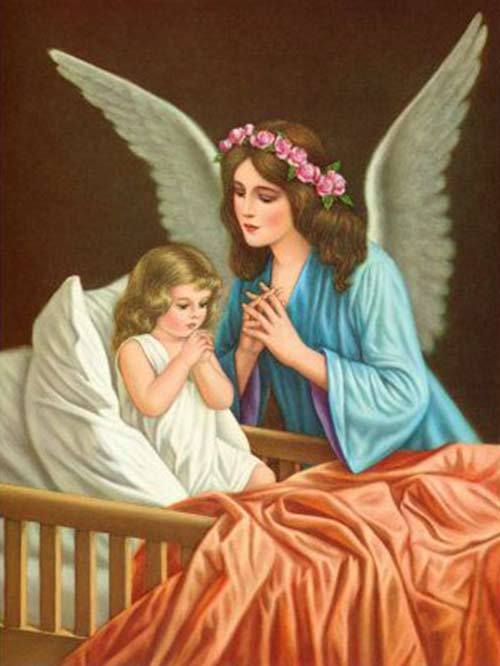 Saint Gertrude's Guardian Angel Prayer