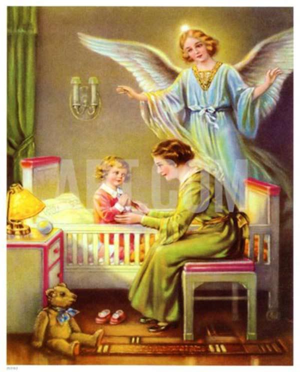 GOOD NIGHT MY GUARDIAN ANGEL