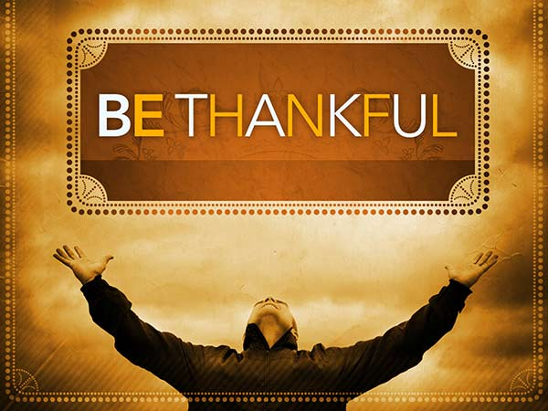 Always Thankful (Devotion)