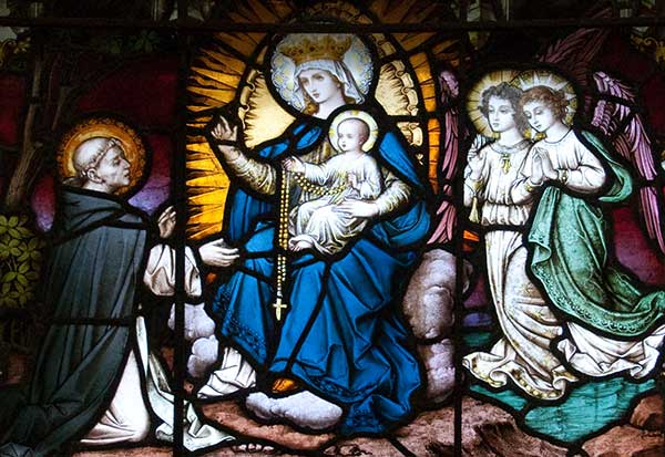 Saint Dominic & The History Of The Holy Rosary