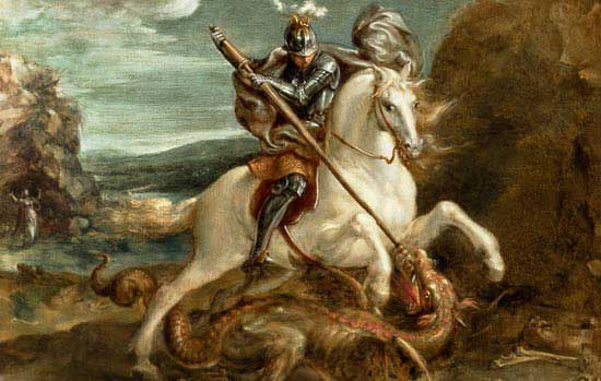 PRAYER TO ST GEORGE FOR A STRONG FAITH
