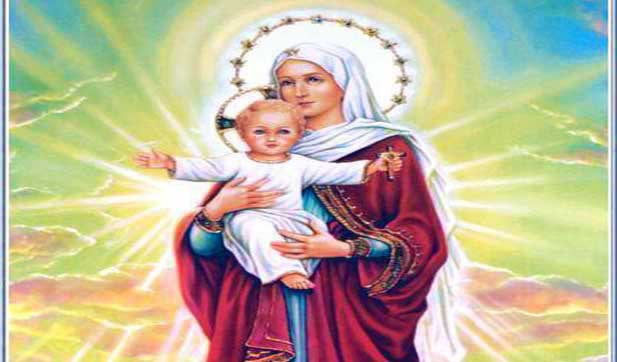 A Prayer of Praise to the Blessed Virgin Mary