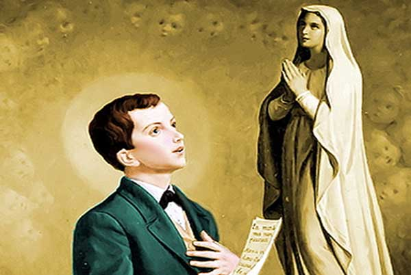 St. Dominic Savio's Prayer to Our Lady