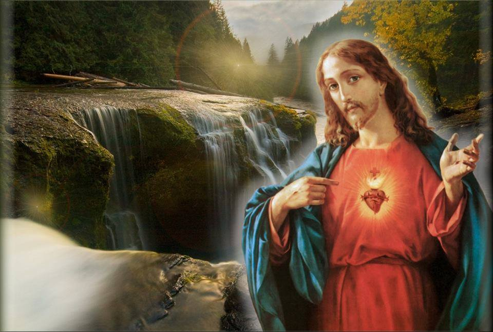 Morning offering To The Sacred Heart of Jesus