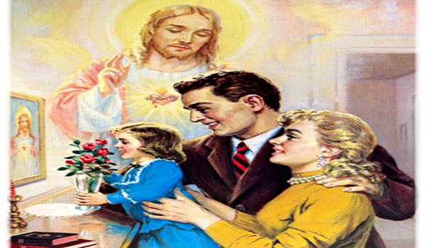 MARRIED COUPLE'S PRAYER TO THE SACRED HEART