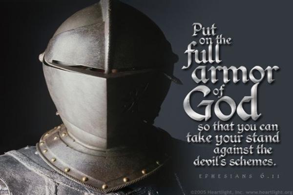 Spiritual Armor Prayer