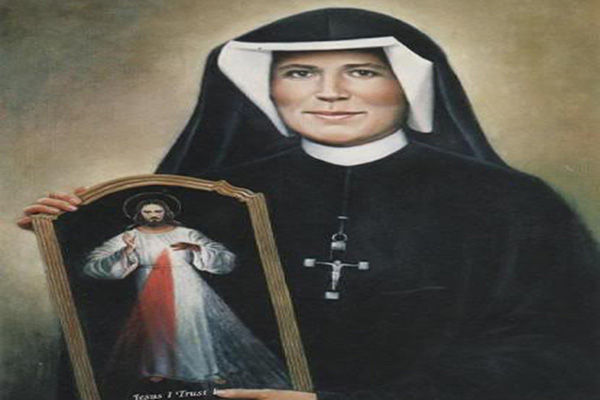 PRAYER TO BLESSED SISTER MARIA FAUSTINA