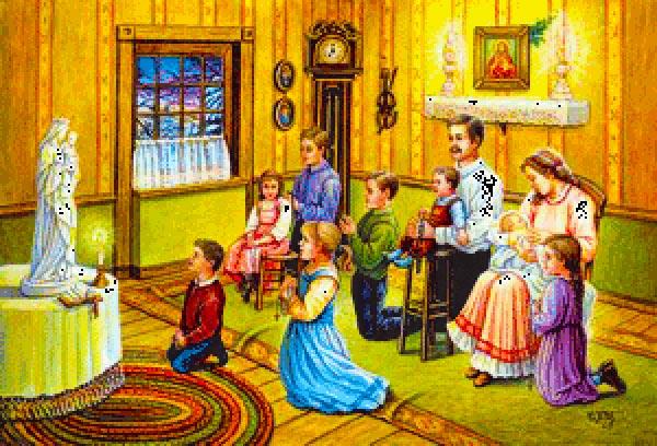 PRAYER FOR A CATHOLIC FAMILY