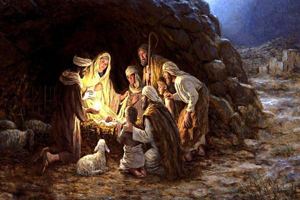 Christ Born in a Stable Prayer