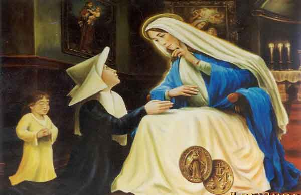 Prayer of Saint Catherine Laboure