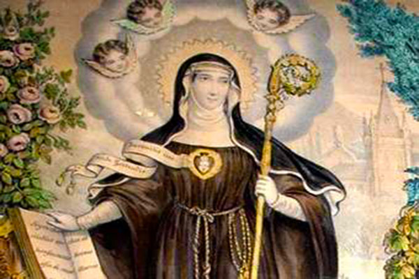St. Gertrude and the Holy Souls