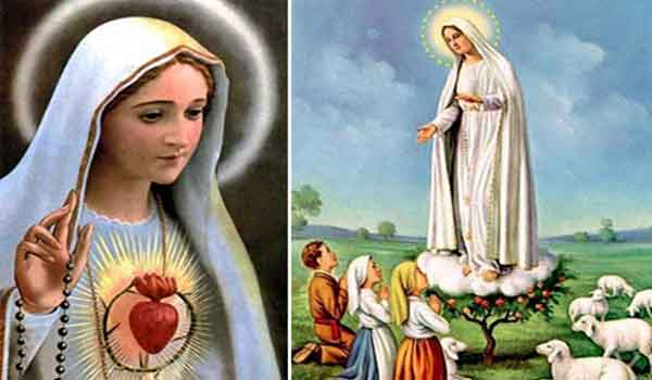 PRAYER TO THE IMMACULATE QUEEN OF PEACE