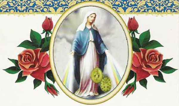 ACT OF CONSECRATION TO OUR LADY OF THE MIRACULOUS MEDAL