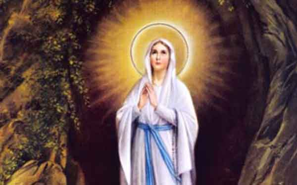 PRAYER TO OUR LADY OF LOURDES
