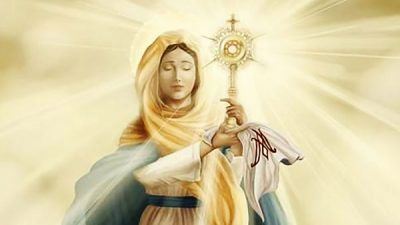 Immaculate queen of heaven and earth