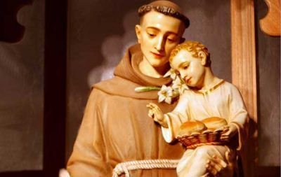 Saint Anthony with the Child Jesus
